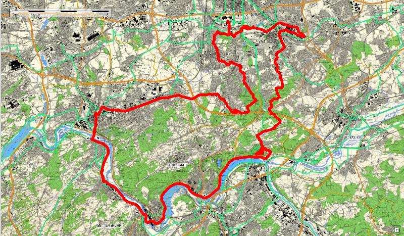 31.05.2015  18.20  Nr. 133   Pott-Radtour Rund um Dortmund