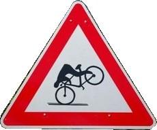Vorsicht Radfahrer